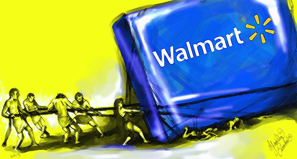 WALMART slaves
