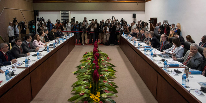 A report on the Cuba-U.S. talks