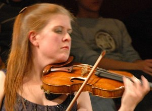 Concertmaster Erin Keefe.