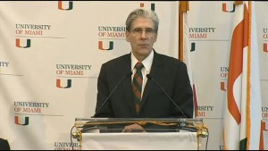New University of Miami president Julio Frenk.