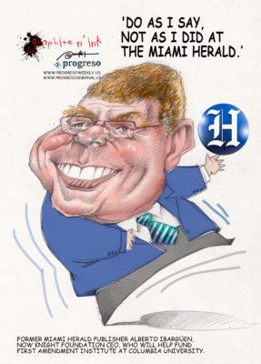 Former Miami Herald publisher Alberto Ibargüen