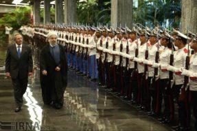 Iranian president visits Havana, urges enhanced Iran-Cuba trade ties