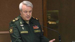 Gen. Nikolai Pankov, deputy Defense minister.