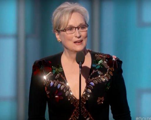 Meryl Streep destroys Trump at Golden Globes; he retorts with Twitter rant & lie