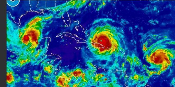Hurricane Irma: the path of destruction