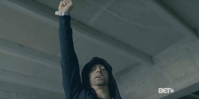 Rapper Eminem: We f***ing hate Trump
