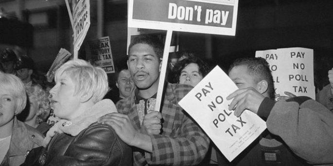 The new poll tax